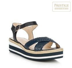 Dámské boty, tmavě modrá, 88-D-451-7-38, Obrázek 1