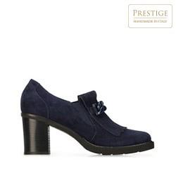 Dámské boty, tmavě modrá, 91-D-106-7-39, Obrázek 1