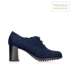 Dámské boty, tmavě modrá, 92-D-650-7-40, Obrázek 1