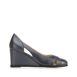 Dámské boty, tmavě modrá, 92-D-950-7-39, Obrázek 1