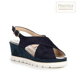 Dámské sandály, tmavě modrá, 88-D-109-7-38, Obrázek 1