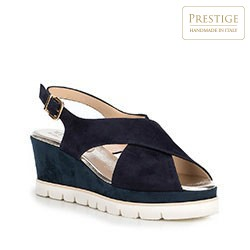 Dámské sandály, tmavě modrá, 88-D-109-7-40, Obrázek 1