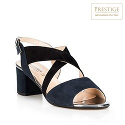 Dámské boty, tmavě modrá, 88-D-403-7-36, Obrázek 1