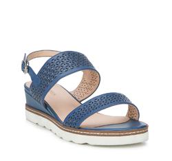 Dámské sandály, tmavě modrá, 88-D-970-7-37, Obrázek 1