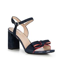 Dámské sandály, tmavě modrá, 90-D-961-7-41, Obrázek 1