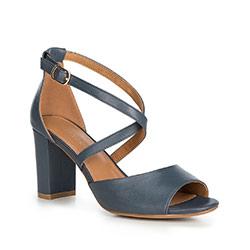 Dámské sandály, tmavě modrá, 90-D-963-N-38, Obrázek 1