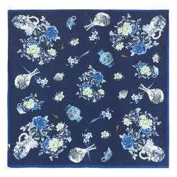 Dámský šátek, tmavě modrá, 87-7D-S14-X2, Obrázek 1