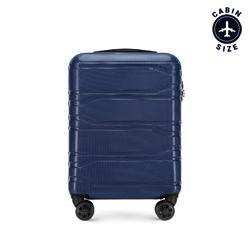 Kabinové zavazadlo, tmavě modrá, 56-3P-981-91, Obrázek 1