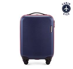 Kabinový cestovní kufr, tmavě modrá, 56-3-610-90, Obrázek 1