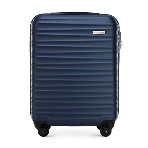 Kabinový cestovní kufr, tmavě modrá, 56-3A-311-01, Obrázek 1