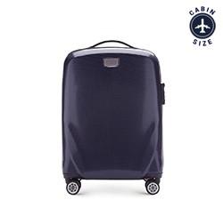Kabinový cestovní kufr, tmavě modrá, 56-3P-571-90, Obrázek 1