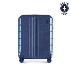 Kabinový cestovní kufr, tmavě modrá, 56-3P-821-90, Obrázek 1