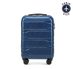 Kabinový cestovní kufr, tmavě modrá, 56-3P-881-90, Obrázek 1
