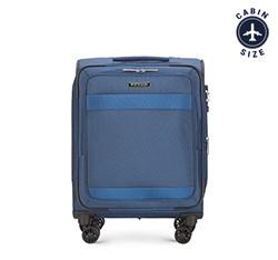 Kabinový cestovní kufr, tmavě modrá, 56-3S-581-90, Obrázek 1