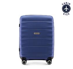 Kabinový cestovní kufr, tmavě modrá, 56-3T-761-90, Obrázek 1