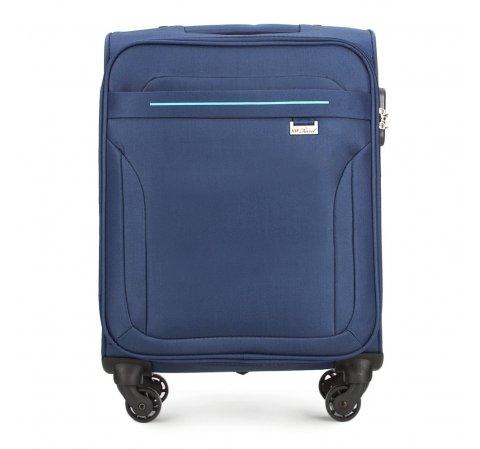 Kabinový cestovní kufr, tmavě modrá, V25-3S-261-40, Obrázek 1