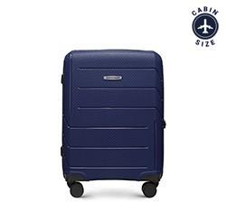 Kabinový kufr, tmavě modrá, 56-3T-771-9R, Obrázek 1