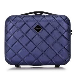 Kosmetická taška z ABS-u, tmavě modrá, 56-3A-554-91, Obrázek 1