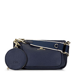 Dámská kabelka, tmavě modrá, 92-4E-653-N, Obrázek 1