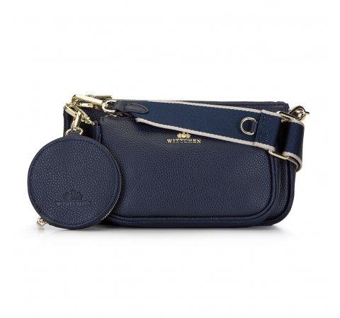 Dámská kabelka, tmavě modrá, 92-4E-653-P, Obrázek 1