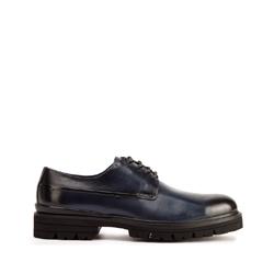 Panské boty, tmavě modrá, 93-M-514-N-43, Obrázek 1