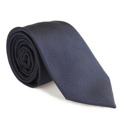 Kravata, tmavě modrá, 85-7K-008-7, Obrázek 1