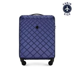 Kabinový cestovní kufr, tmavě modrá, 56-3A-551-90, Obrázek 1