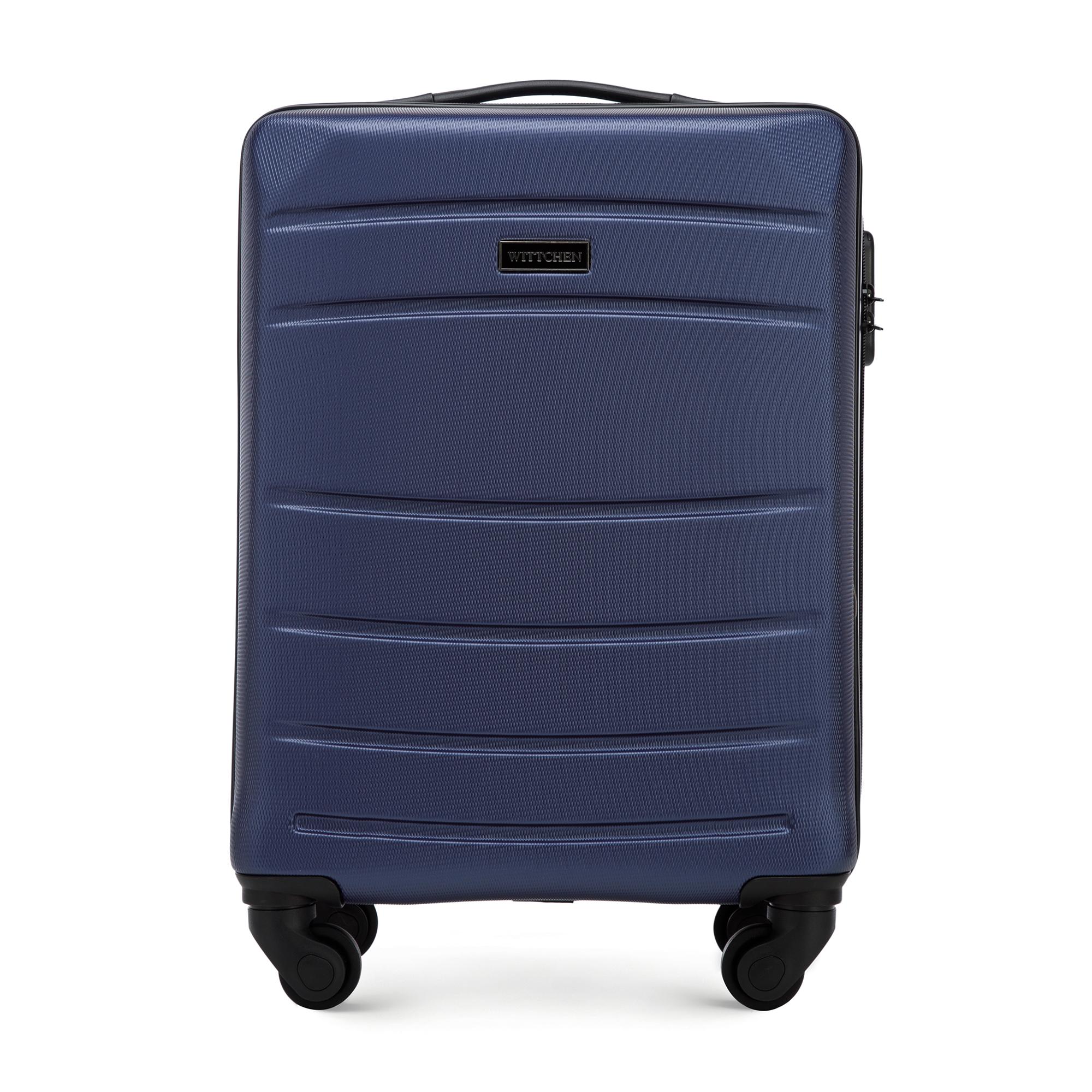 Kabinový cestovní kufr, tmavě modrá, 56-3A-651-90, Obrázek 1