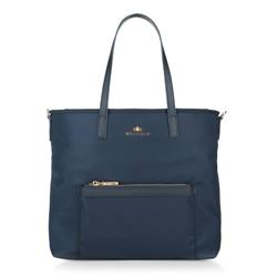 Dámská kabelka, tmavě modrá, 88-4E-225-7, Obrázek 1