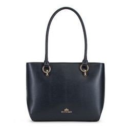Nákupní taška, tmavě modrá, 89-4E-413-7, Obrázek 1