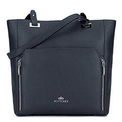 Dámská kabelka, tmavě modrá, 89-4E-417-7, Obrázek 1