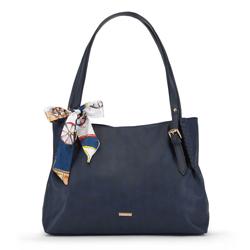 Dámská kabelka, tmavě modrá, 90-4Y-354-7, Obrázek 1