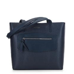 Dámská kabelka, tmavě modrá, 91-4Y-200-7, Obrázek 1