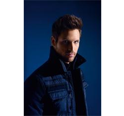 Pánská bunda, tmavě modrá, 85-9D-351-7-L, Obrázek 1