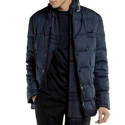 Pánská bunda, tmavě modrá, 85-9D-352-7-M, Obrázek 1