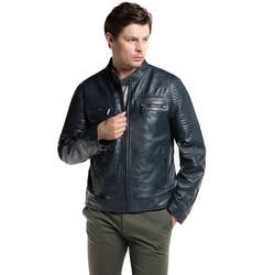 Pánská bunda, tmavě modrá, 86-09-251-7-L, Obrázek 1