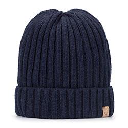 Panská čepice, tmavě modrá, 93-HF-008-7, Obrázek 1