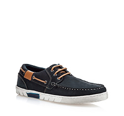 Pánské boty, tmavě modrá, 84-M-200-7-44, Obrázek 1