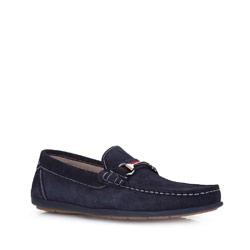 Pánské boty, tmavě modrá, 86-M-652-7-42, Obrázek 1