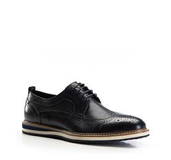 Pánské boty, tmavě modrá, 86-M-806-7-43, Obrázek 1