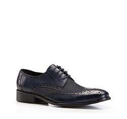 Pánské boty, tmavě modrá, 86-M-807-7-43, Obrázek 1