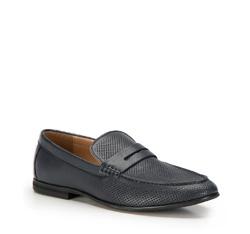 Panské boty, tmavě modrá, 86-M-902-7-43, Obrázek 1