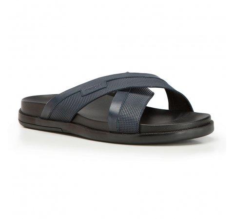 Pánské boty, tmavě modrá, 86-M-911-1-40, Obrázek 1