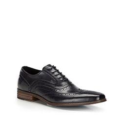Pánské boty, tmavě modrá, 86-M-916-7-43, Obrázek 1