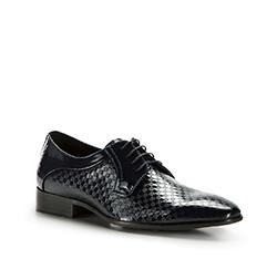 Pánské boty, tmavě modrá, 86-M-925-7-43, Obrázek 1