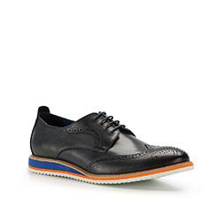 Pánské boty, tmavě modrá, 86-M-929-7-43, Obrázek 1