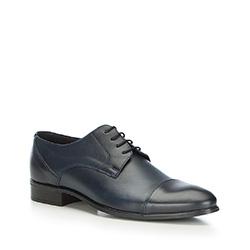 Pánské boty, tmavě modrá, 87-M-600-7-43, Obrázek 1