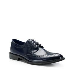 Pánské boty, tmavě modrá, 87-M-806-7-44, Obrázek 1