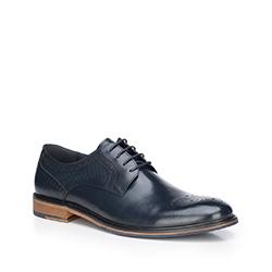Pánské boty, tmavě modrá, 87-M-811-7-44, Obrázek 1
