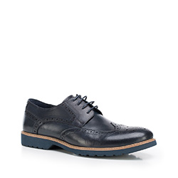 Pánské boty, tmavě modrá, 87-M-814-7-43, Obrázek 1